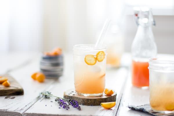 Lavender kumquat shrub from  The Bojon Gourmet