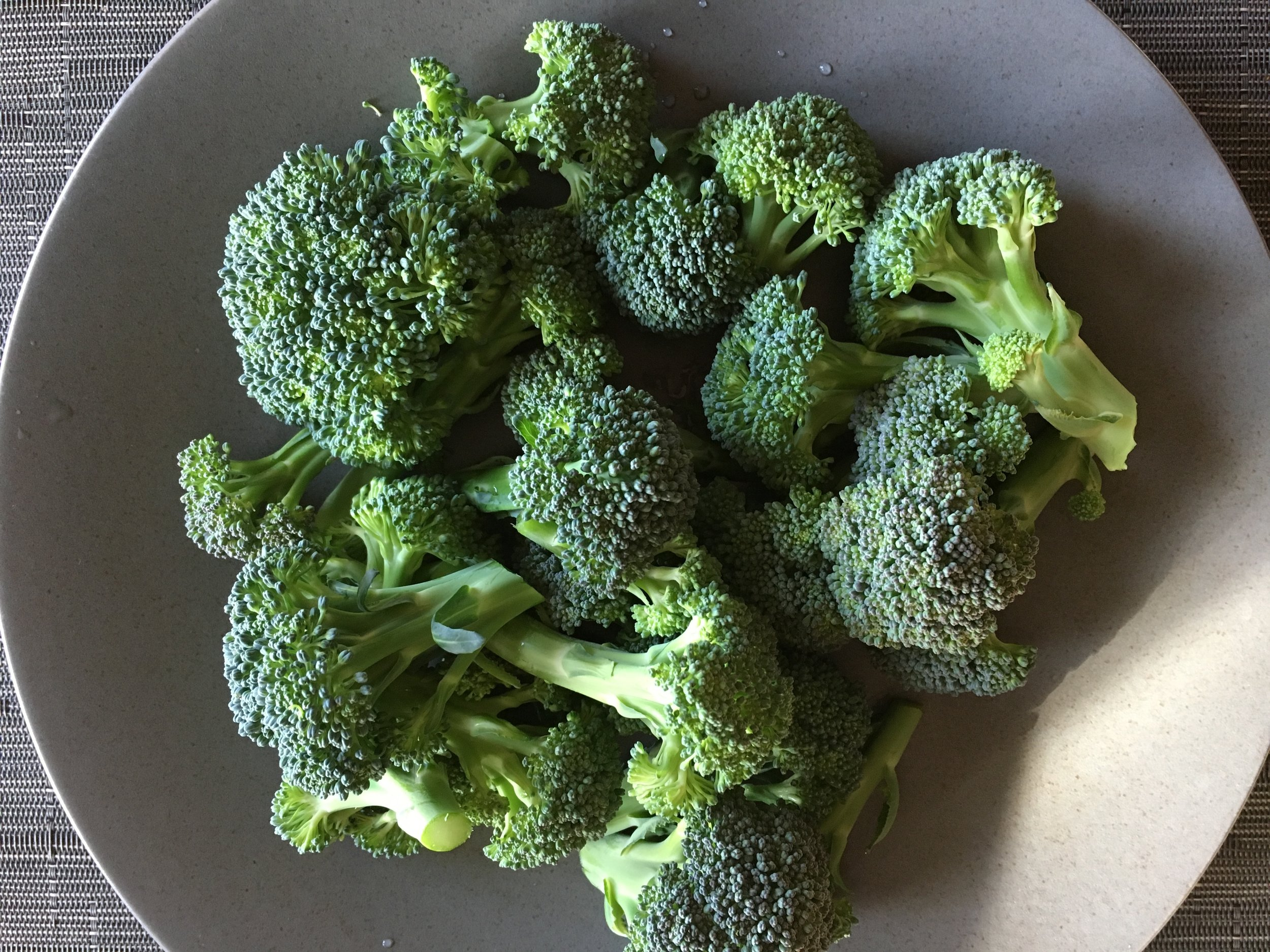 Broccoli 91% water