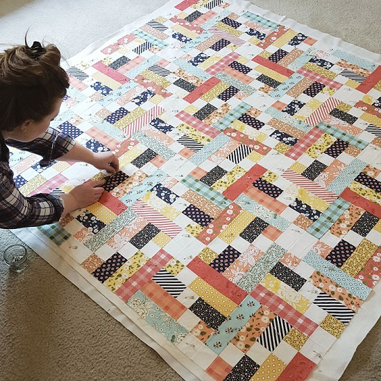 About the maker - I quilt because...