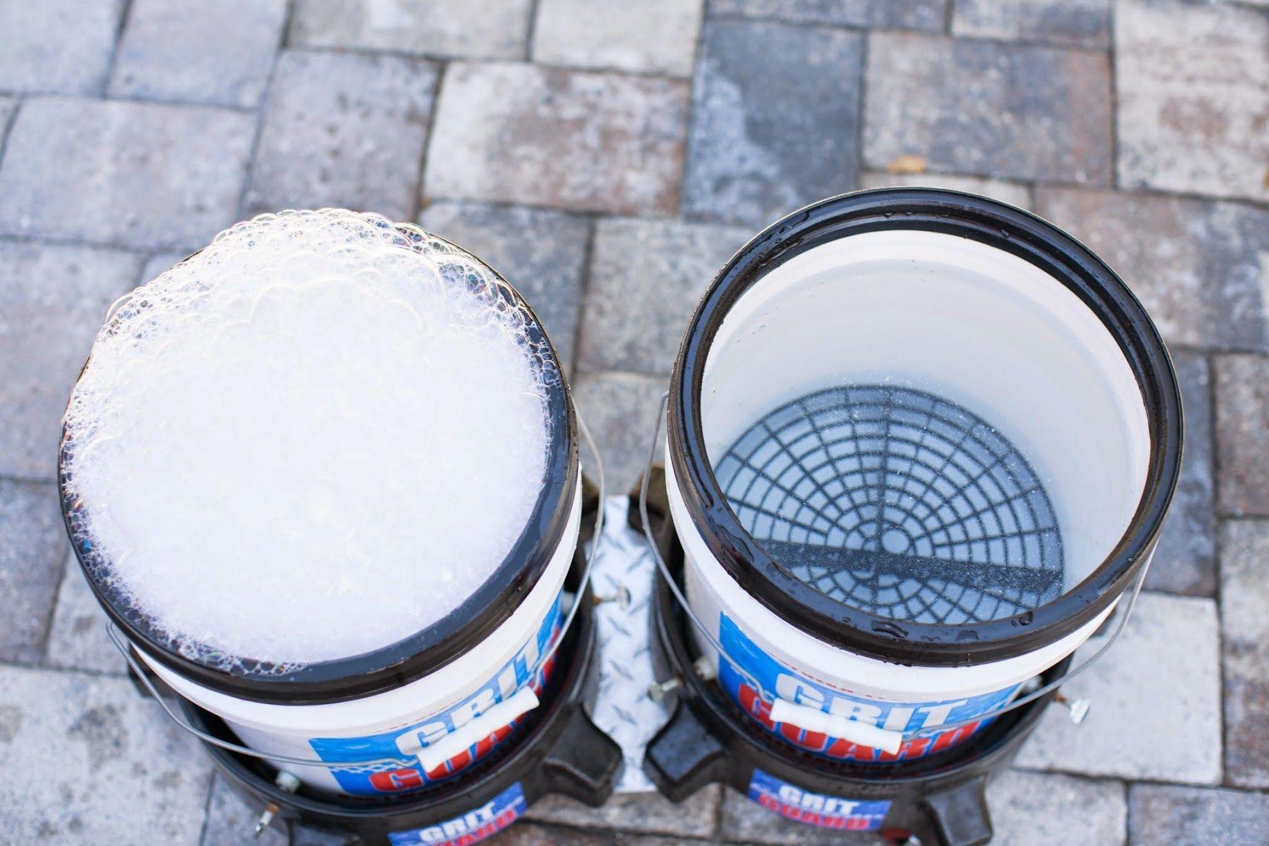 Two bucket wash