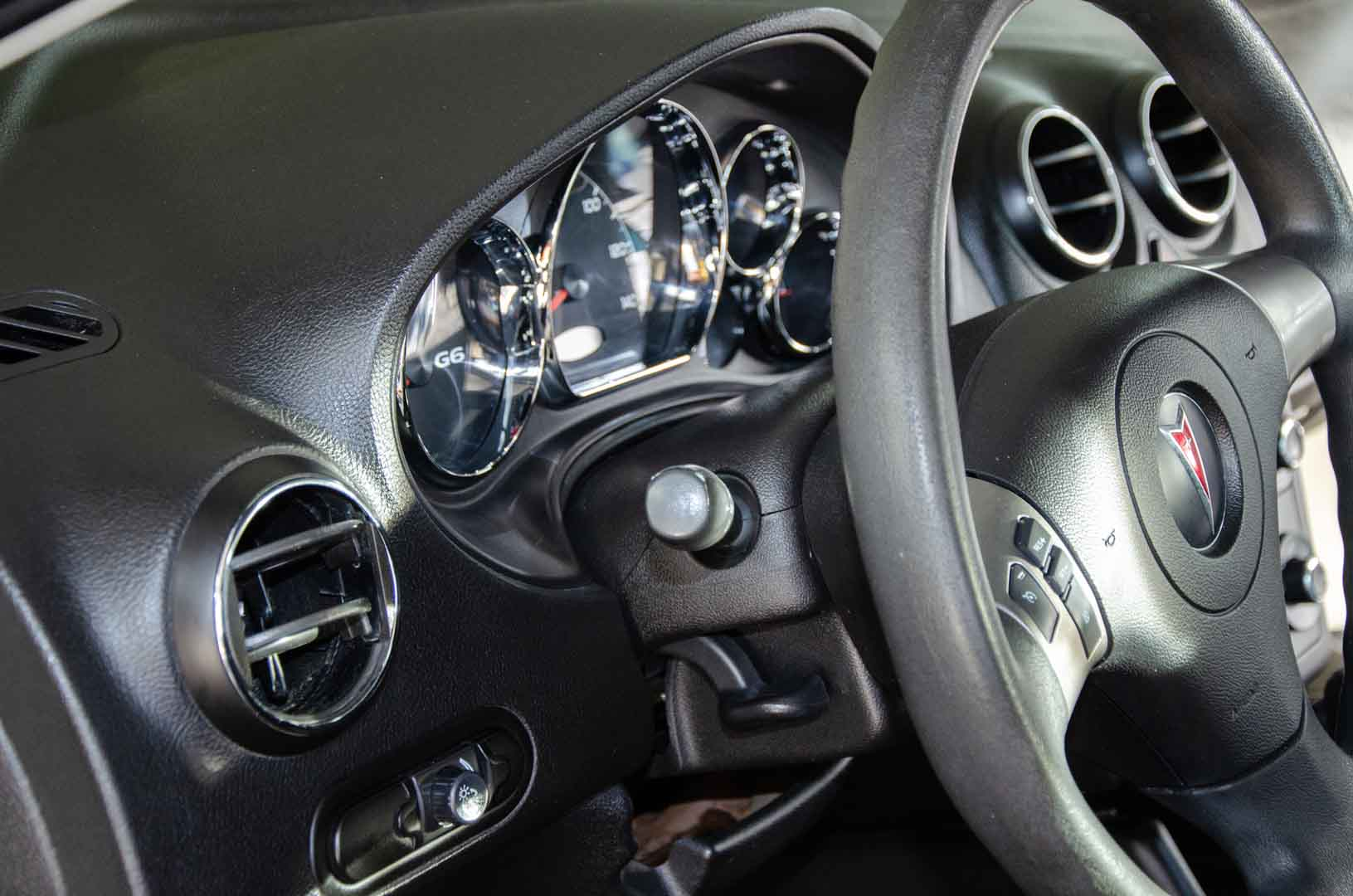 Clean Steering Wheel and Cluster Gauges