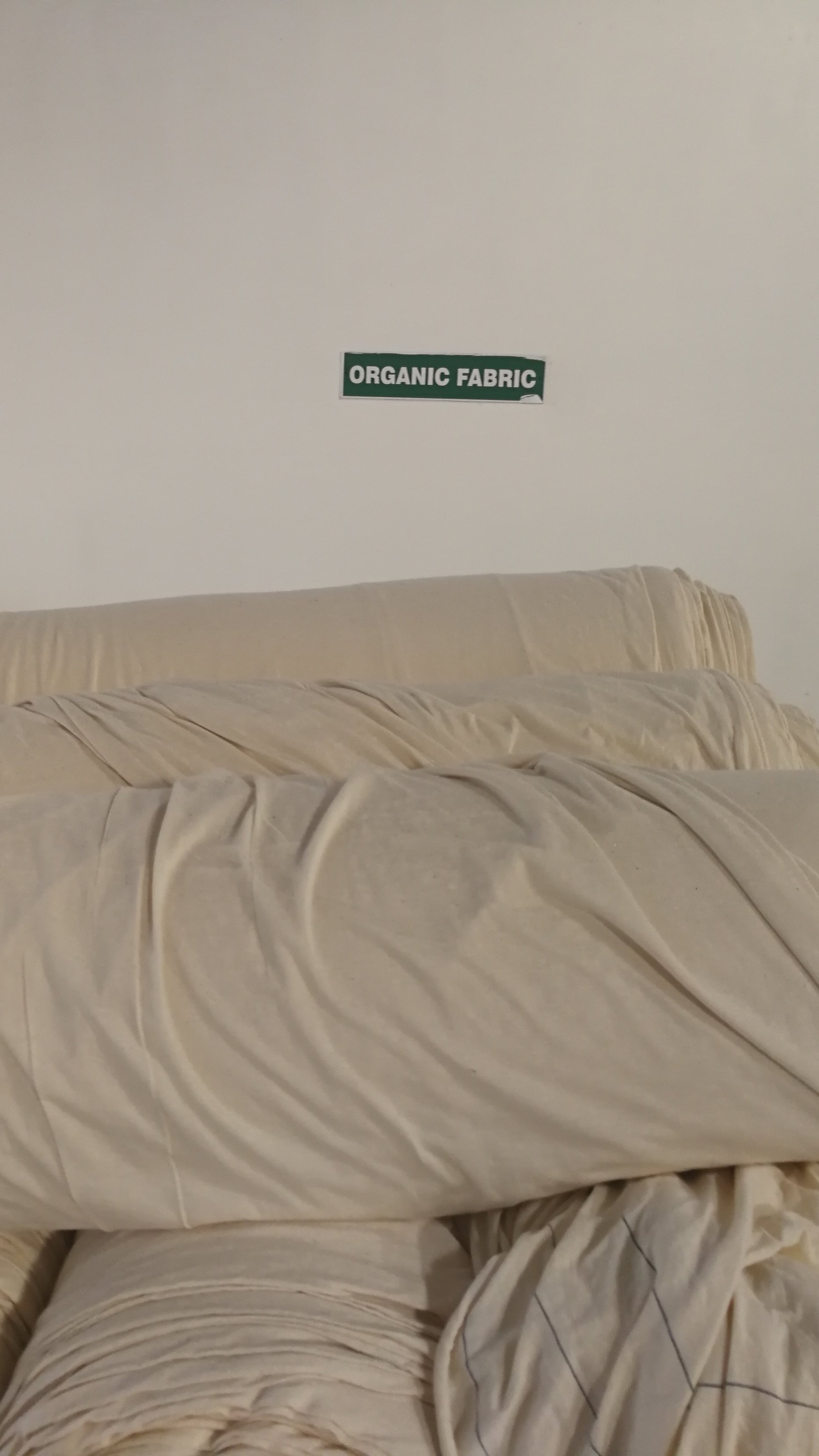 Bio Baumwollstoff    Organic cotton fabric