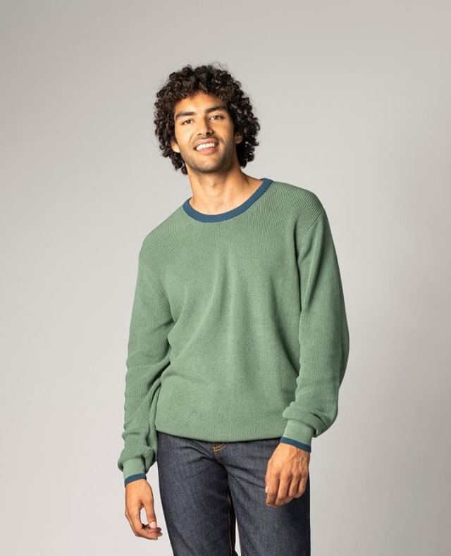 Jade green, good looking, warm and cozy - these are just a few of the characteristics of the TT3002 Knit Pullover!  Visit our webshop thokkthokkmarket.com to see our new premium Knitwear.  #new #fair #eco #fairtrade #fairfashion #seedthetrees #ecofashion  #organicfashion #fashionrevolution #sustainablelifestyle #sustainableclothing #sustainable  #ethicallymade #greenfashion #cozy #fashion #green #thinkgreen #ethicalstyle #ethicalfashion #love #happy #thokkthokk #organic #apparel #joyofdiscovery #discovernewpaths #bebold #pullover #knit  