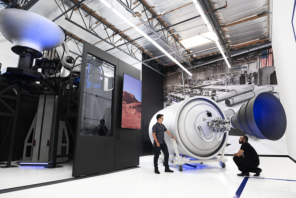 Relativity Space - Stargate - Largest Metal 3D Printer in the World