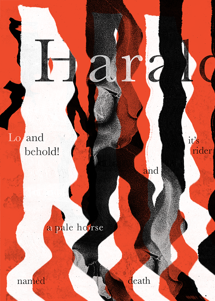 Harald Poster for This Savage Beauty | Design by Julie Smits