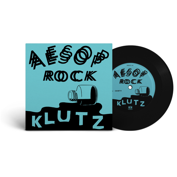 "Vinyl release for 'Klutz' | artwork by Stephen ""ESPO"" Powers"