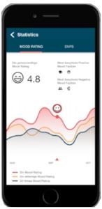 The Moodstories app
