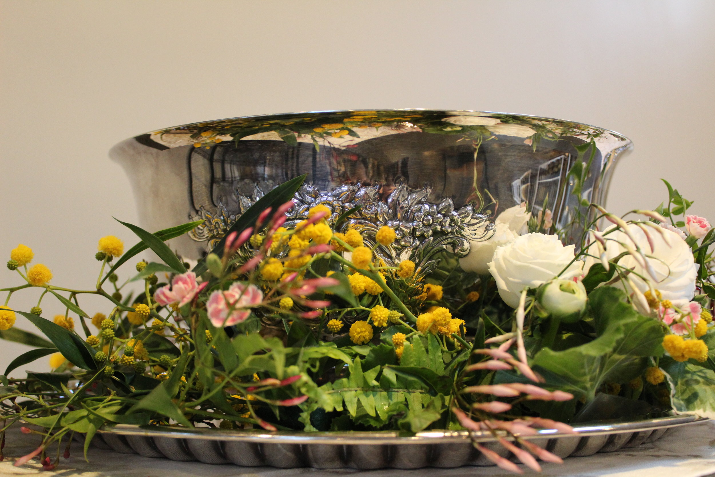 Spring Baby Shower Celebration in the Studio. Florals & Design by Yellow Canary