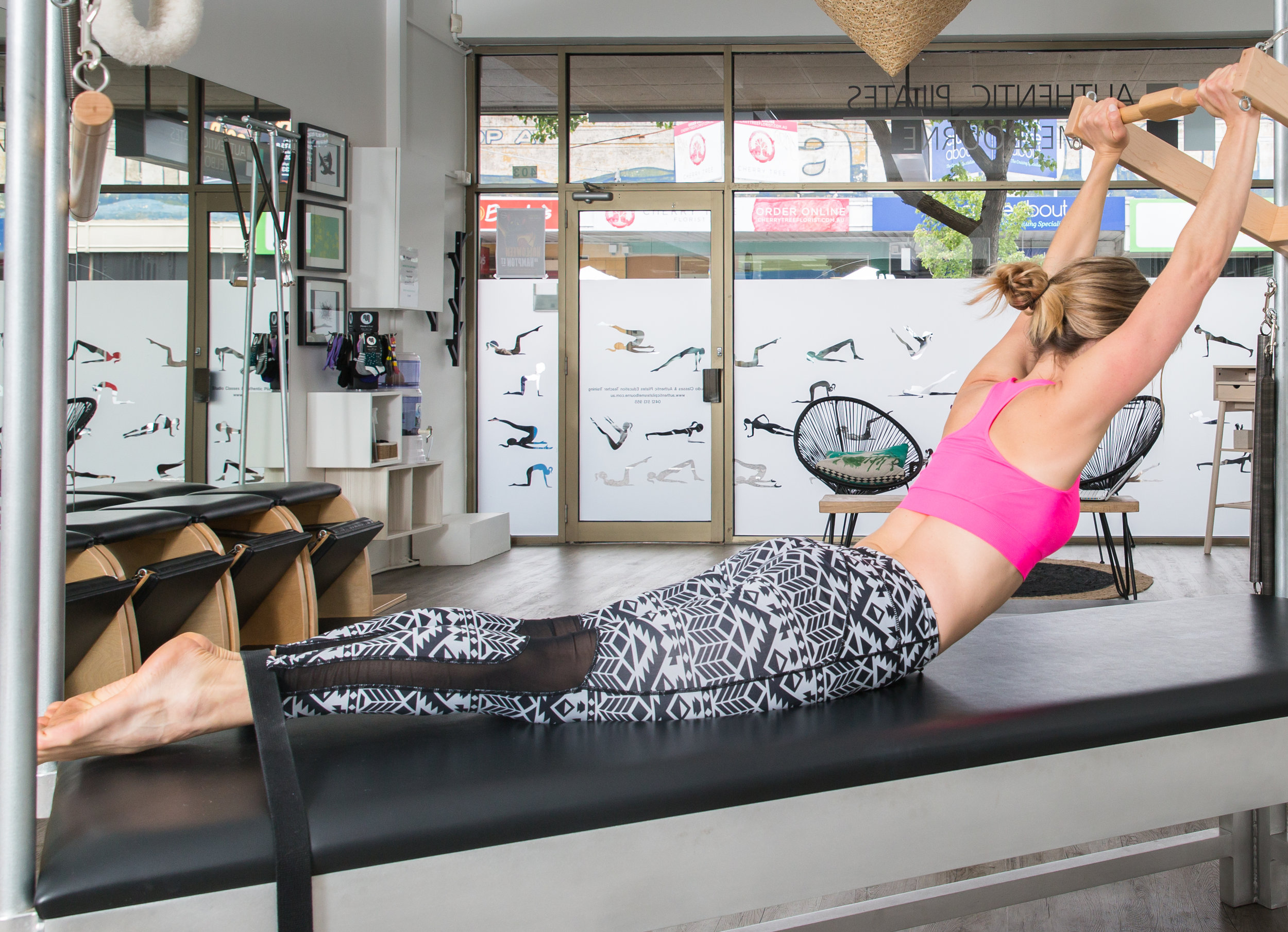 Image courtesy of @neetaphotography on location at Authentic Pilates Melbourne, Hampton, Melbourne.