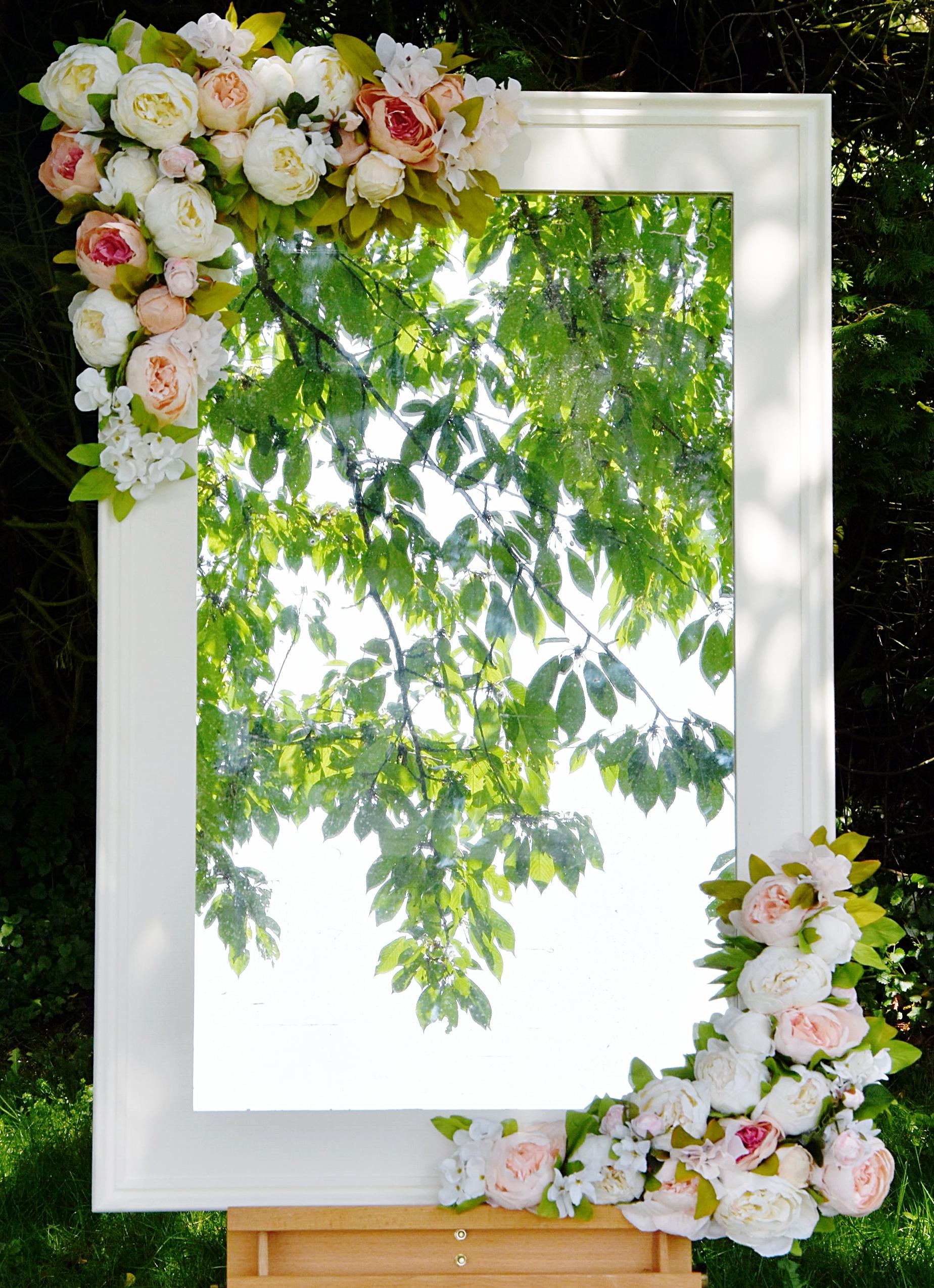 - Floral Mirror