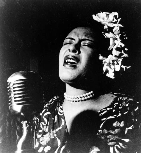 The great Billie Holiday.