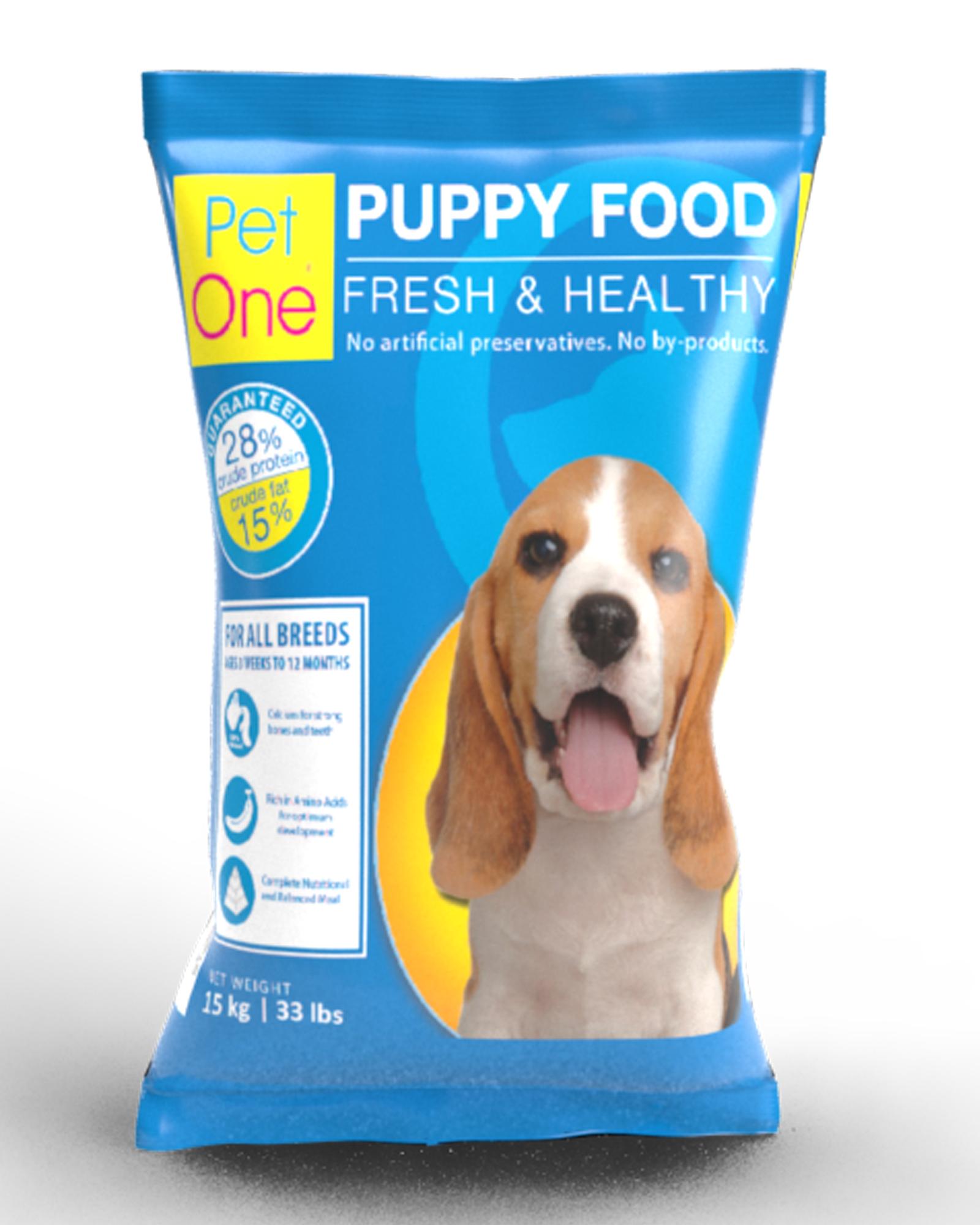 Puppy Food Pet One Pet Food