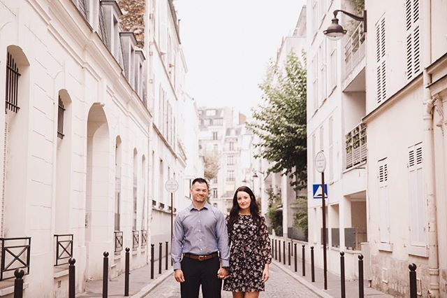 Terrance + Gillian ❤️ in Paris  #parisphotoshoot #parisphotographer #portraitphotographerparis