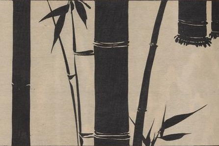 - Kobayashi, Bunshici. Bansho zukan. Kobayashi Bunshici, Tokyo, Meiji 34 [1901]. Two volumes available from Smithsonian Libraries here. More plants and animals...the bamboo images would make an elegant wallpaper.