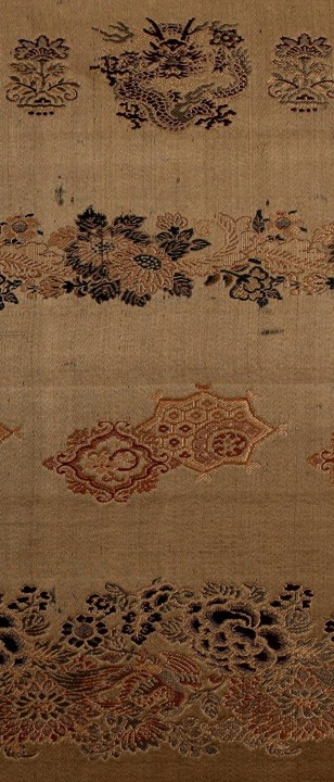 - Oriental Textile Samples. 1700. Available from the Internet Archive here. This book is a reminder of how rich the textile tradition is – particularly from China. I clipped a part of the cover – which must have also been textile. There is a note that the book is 'fabric samples mounted in accordion-style, silk covered, volumes in brown cloth-covered folios'.