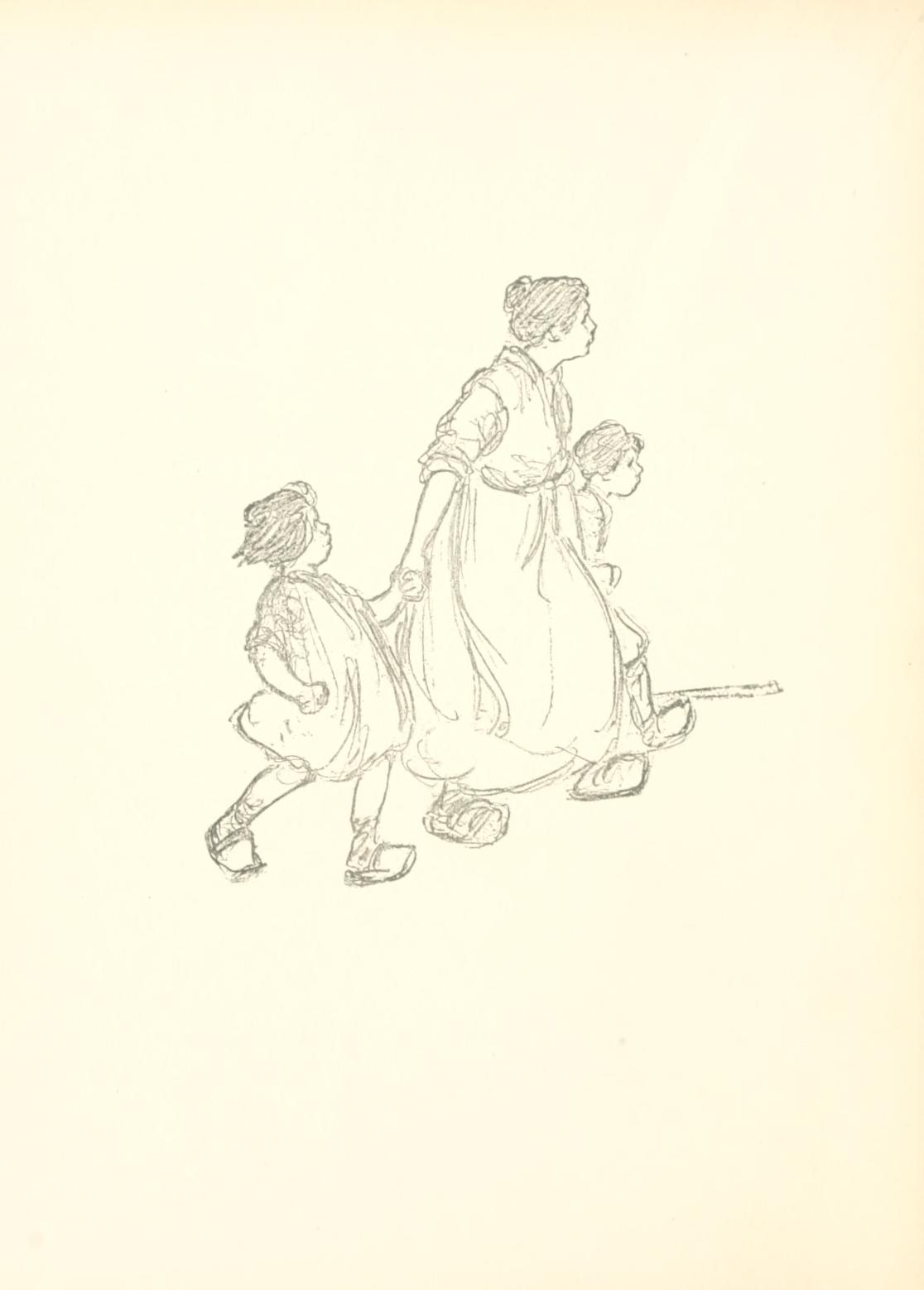 - Perkins, Lucy Fitch. The Belgian Twins. Boston: Houghton Mifflin Company. 1917. Available on Internet Archive here. The author wrote a whole series of books about twins from around the world between 1911 and 1934. Evidently, she interviewed someone that had grown up in each country to gain understanding of children's lives there. She also incorporated aspects of history; World War I was woven into this book about Belgium published in 1917 and the book about French twins published in 1918. Many of the books are available on Internet Archive. The sketch type illustrations are the aspect of these books I enjoyed the most.