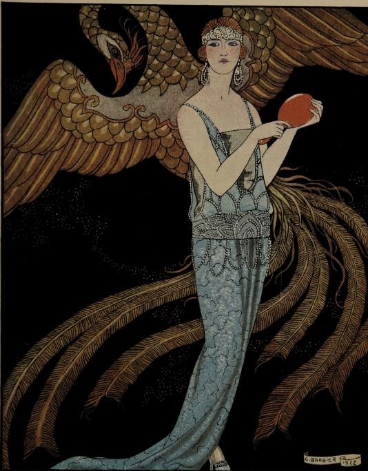 - Barbier, George. Le bon ton d'après-guerre. Paris: Dorbon-Aine. 1922. Two volumes available from Internet Archive (one and two).