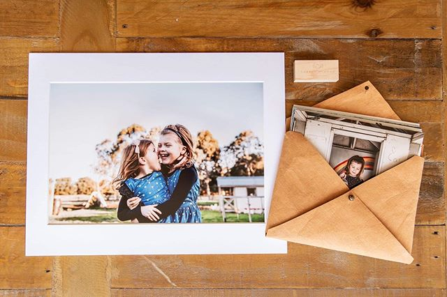 A package of beautiful products off to another family! Along with digital files, they now have a set a prints in a leather envelope and matted prints to adorn their walls and look back on for years to come. How could you not love looking at those happy cuties every day?! #laurenmcadamphotography #preservehistory #makeprints #geelongkids #atkinsprolab #geelongfamilyphotographer #geelongfamilies #inhomesession