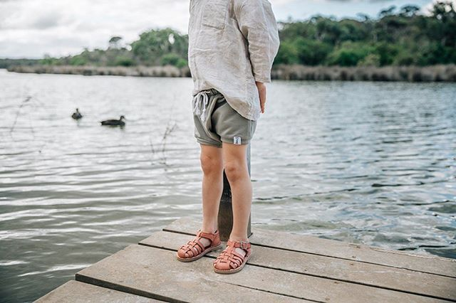 Look at this little lucky duck wearing @tikitotshoes new 'Roma' leather sandals.  An image from my recent photoshoot for @tikitotshoes Spring/Summer Range. These gorgeous sandals are available for Pre Order over at @tikitotshoes. Perfect for the warmer weather ahead ☀️ #laurenmcadamphotography #tikitotshoes #geelongkids #geelongbusiness #river #ducks #commercialshoot #geelongphotographer #geelongcreatives #springsummercollection #kidsshoes