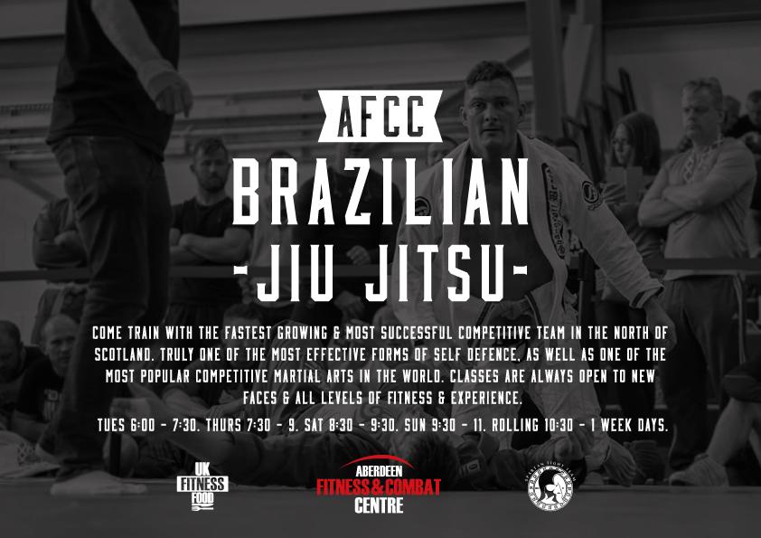 Poster created for the AFCC Brazilian Jiu Jitsu Program