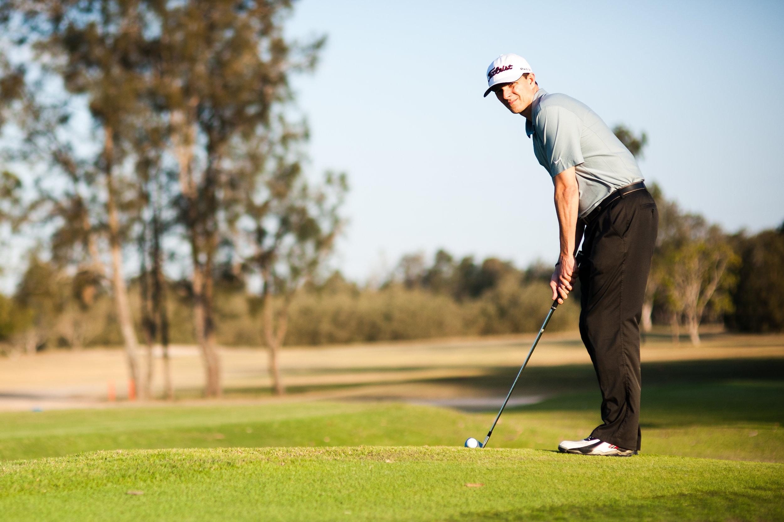 proper golf swing takeaway -