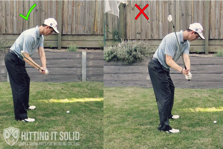 downswing in golf