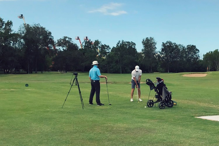 golf lessons online -