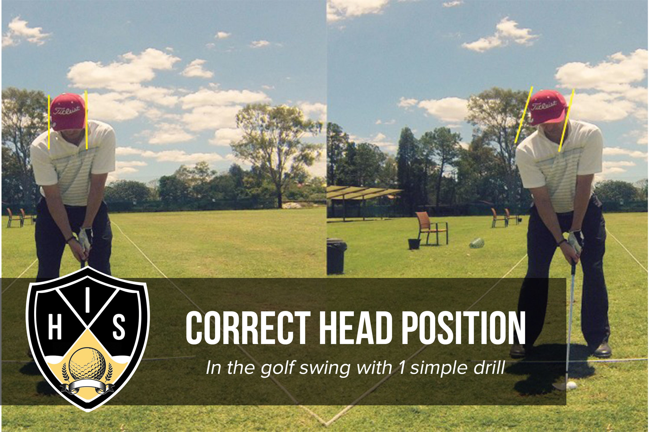Get The Correct Head Position In The Golf Swing With 1