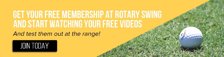 Get your free membership at Rotary Swing today and watch the free videos that you can watch at the driving range
