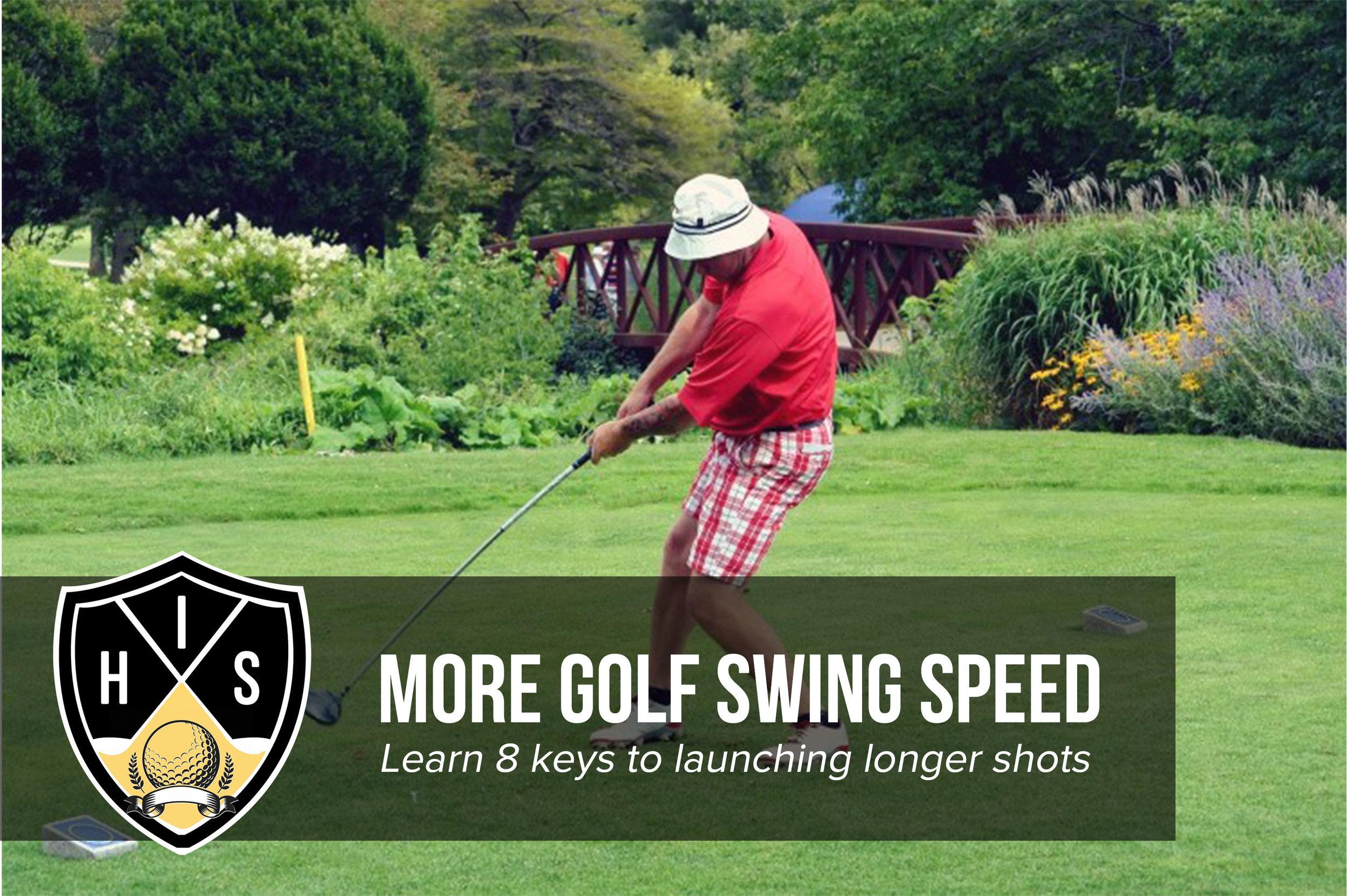 Increase Golf Swing Speed