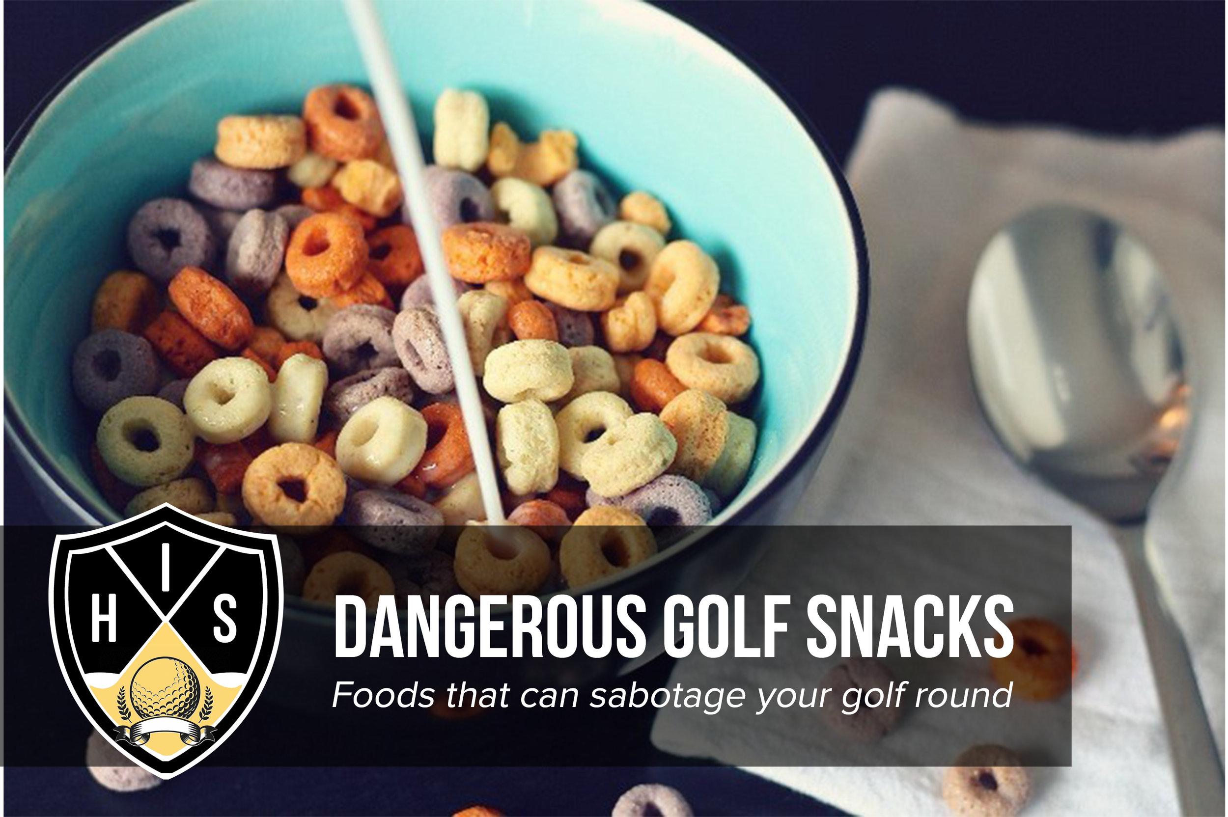 Dangerous Golf Snacks