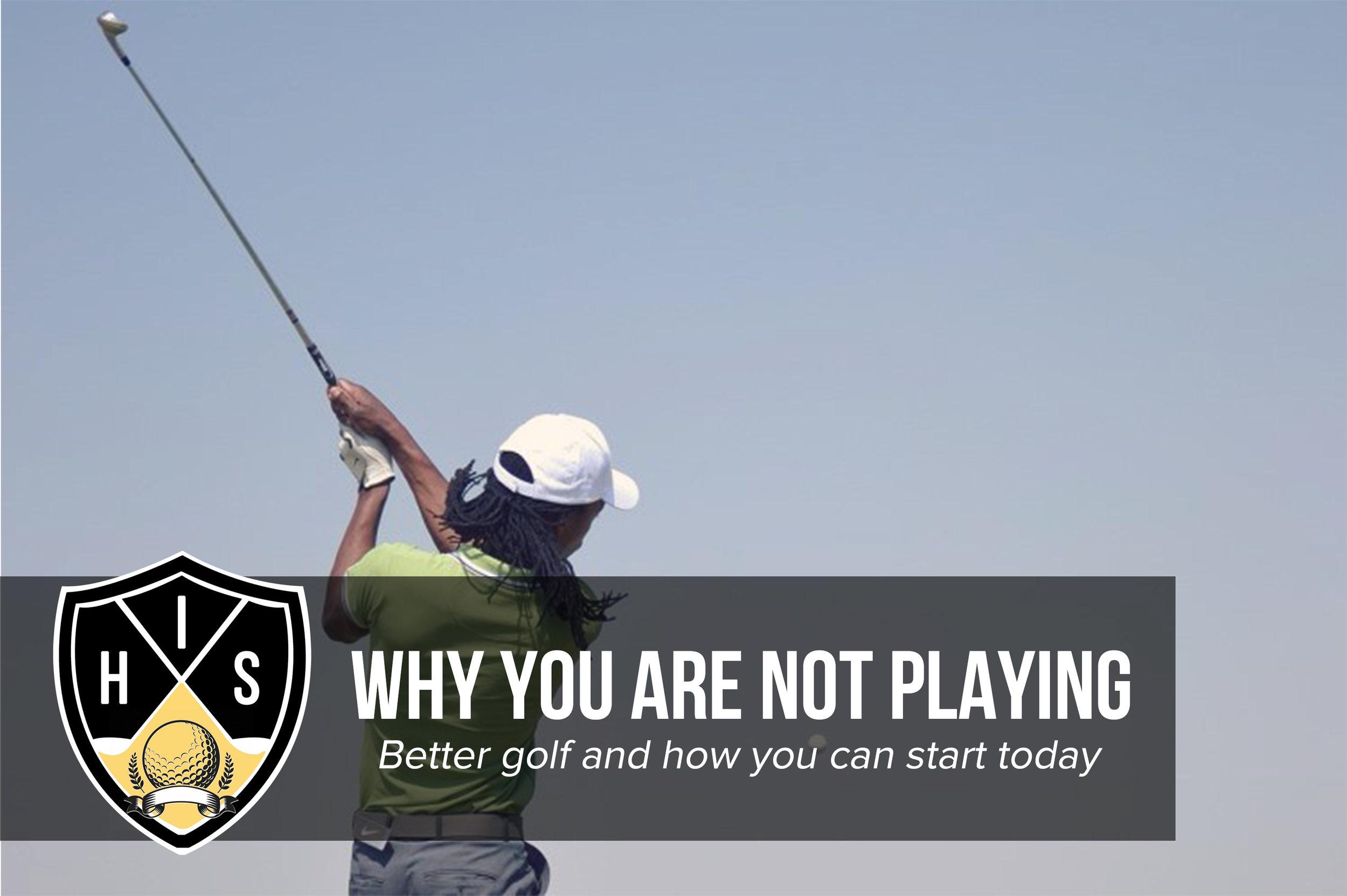 Playing Better Golf