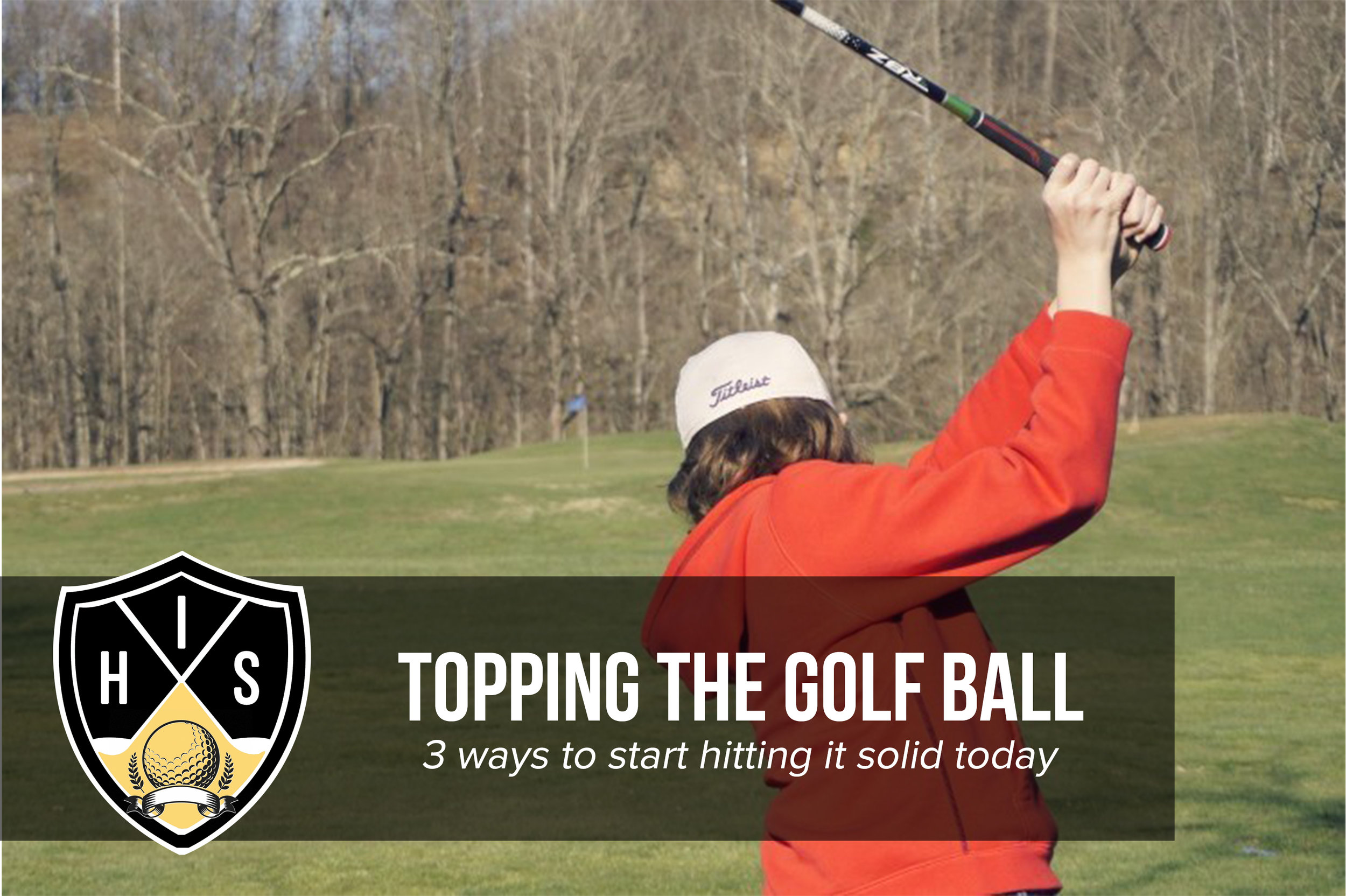Topping The Golf Ball
