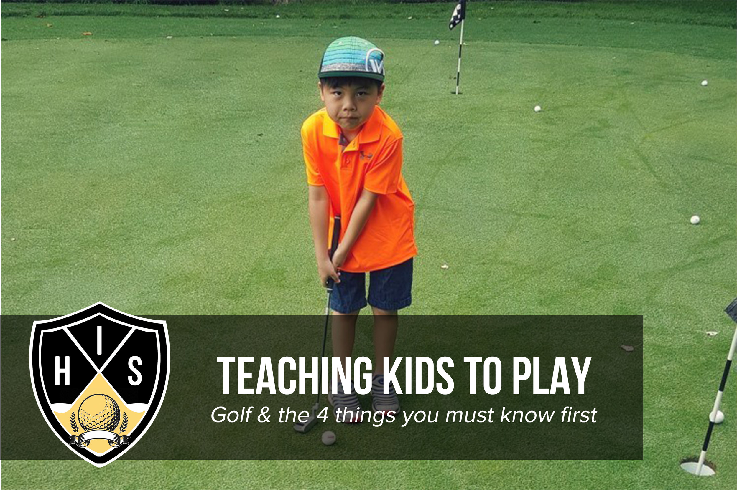Teaching Kids to Play Golf