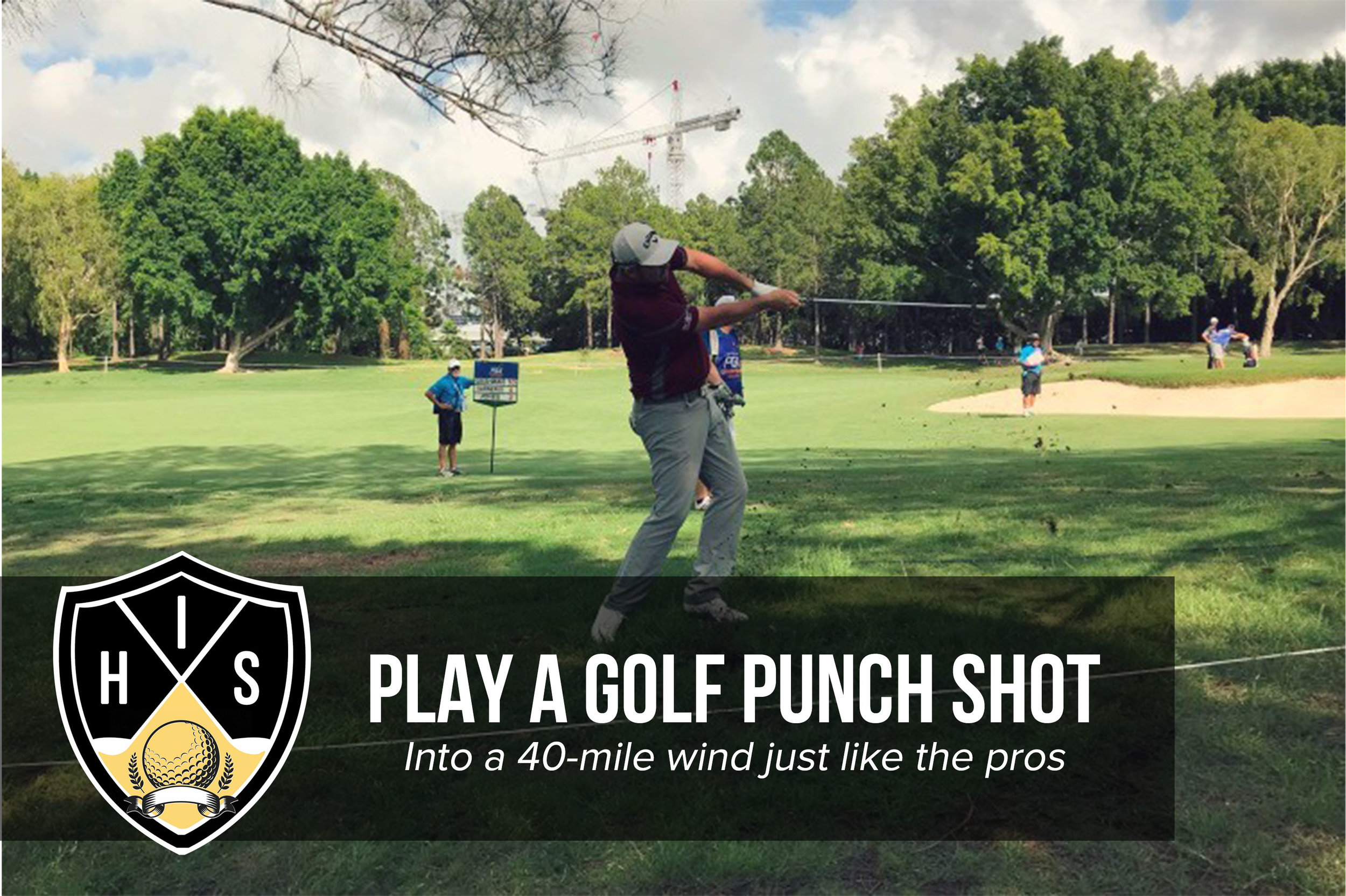Golf Punch Shot