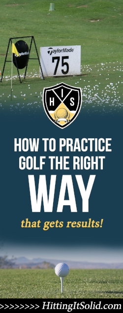 If you want to know how to practice golf correctly you need have the right information. Learn how to practice golf effectively so you are not wasting time at the driving range.