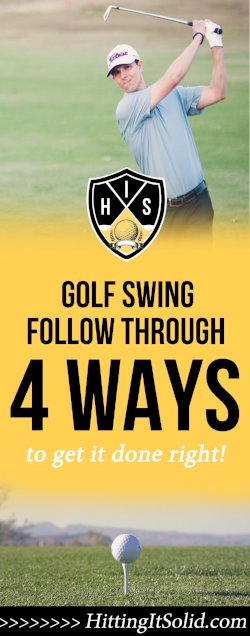 If you want to know how to get the correct golf swing follow through you need to know the facts. Learn 4 proven ways to finish your golf swing like a touring pro.