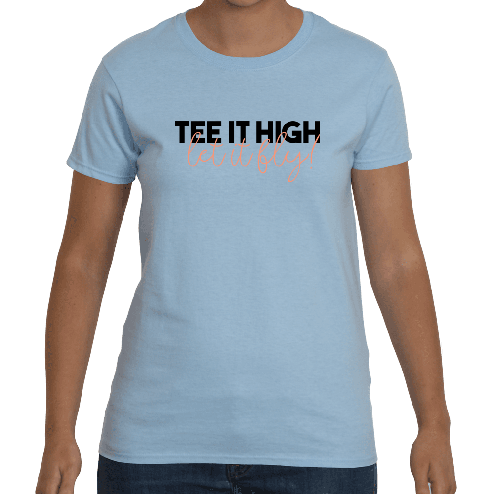Tee it high let it fly - blue