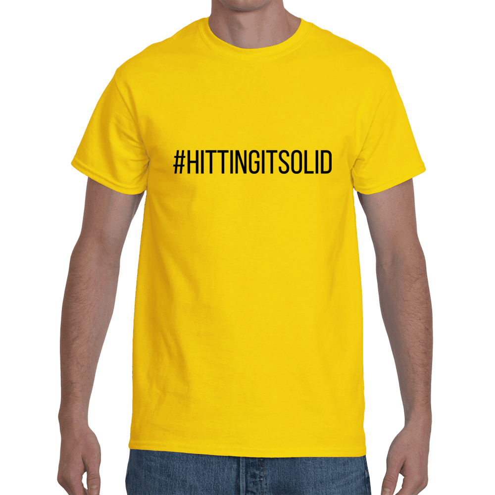 #HittingItSolid - yellow