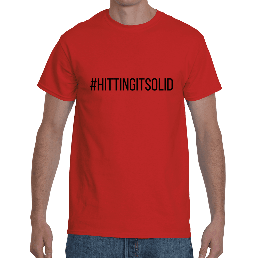 #HittingItSolid - red
