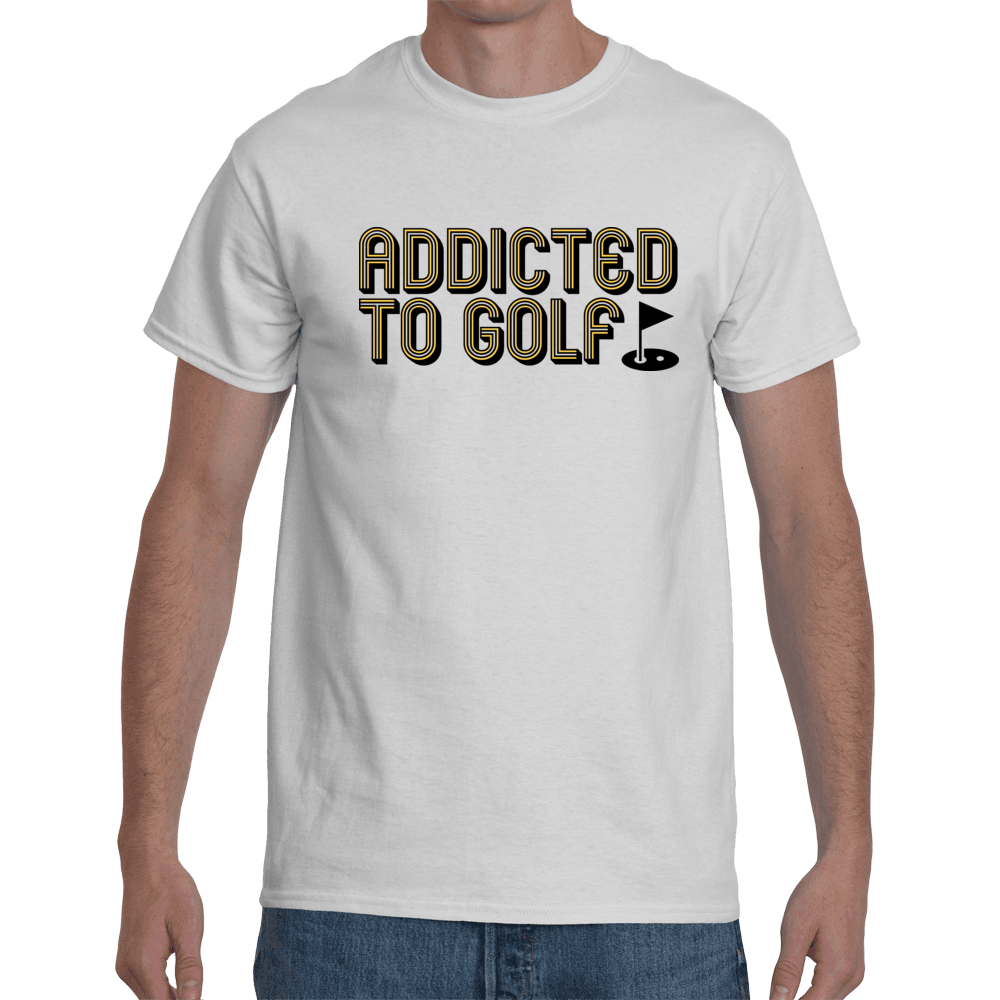 Addicted to golf - white