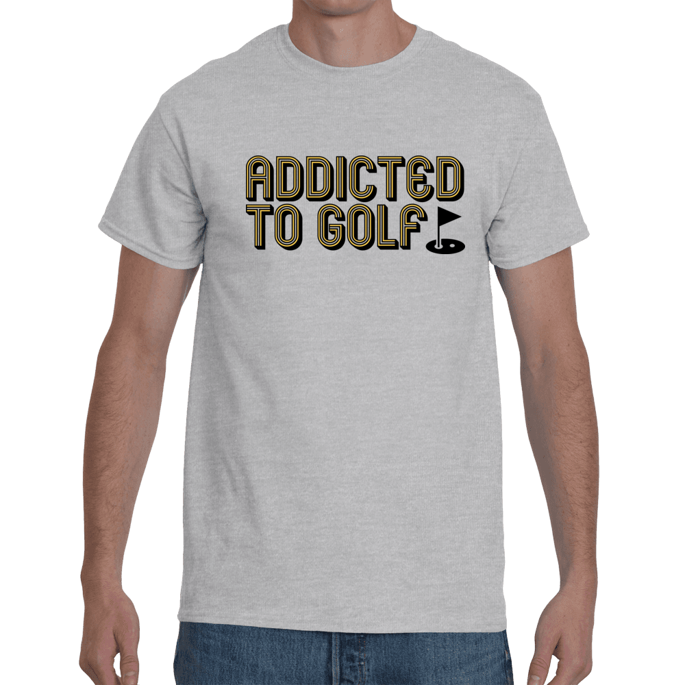 Addicted to golf - grey