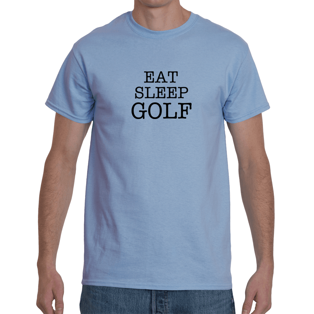 Eat sleep golf - blue