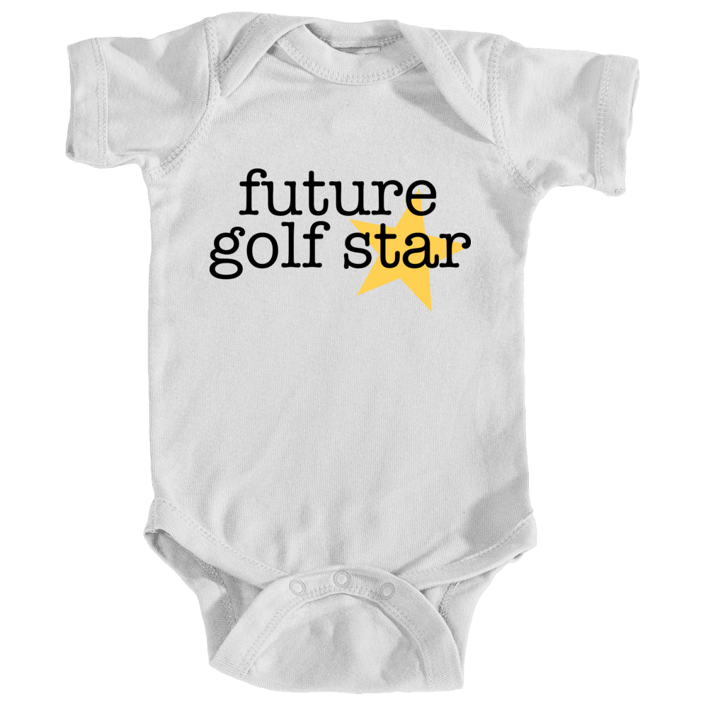 Future golf star - white