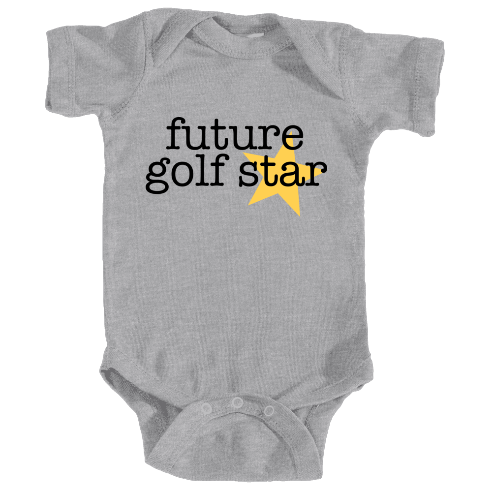 Future golf star - grey