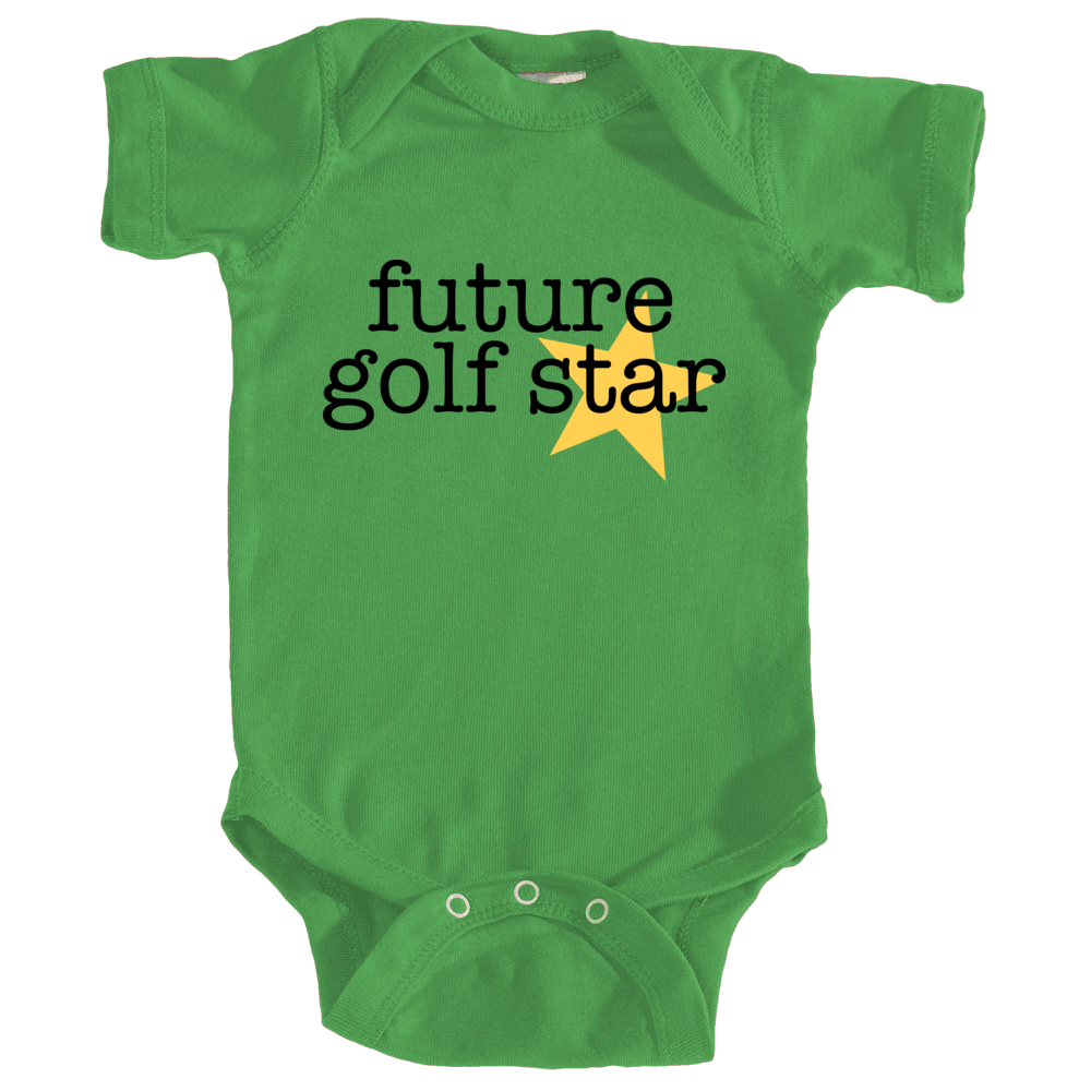 Future golf star - green