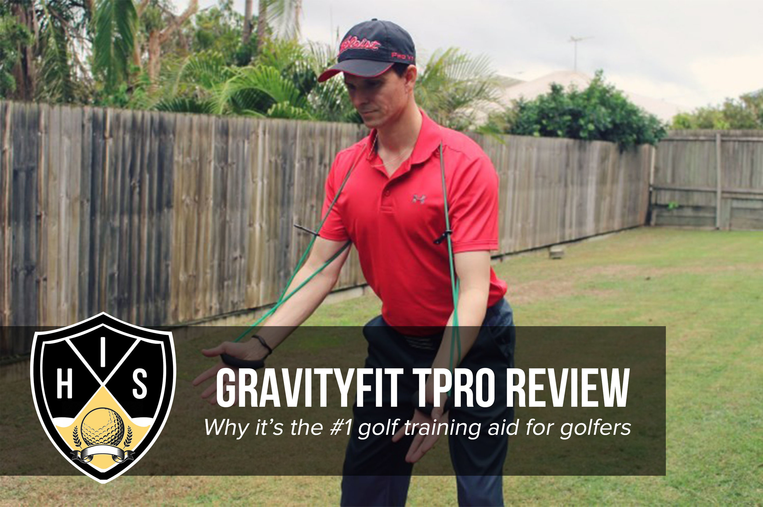 Learn in this GravityFit TPro review how this powerful golf training aid can improve your golf swing through correct posture and body feels in the golf swing