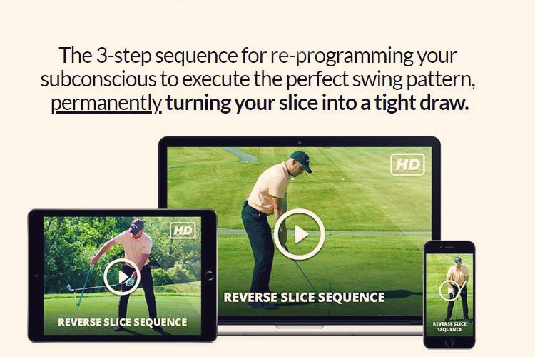 RReverse Slice Sequence by Performance Golf Zone will fix your golf slice in just 15 shots. Quality golf instruction online you can follow with confidence.