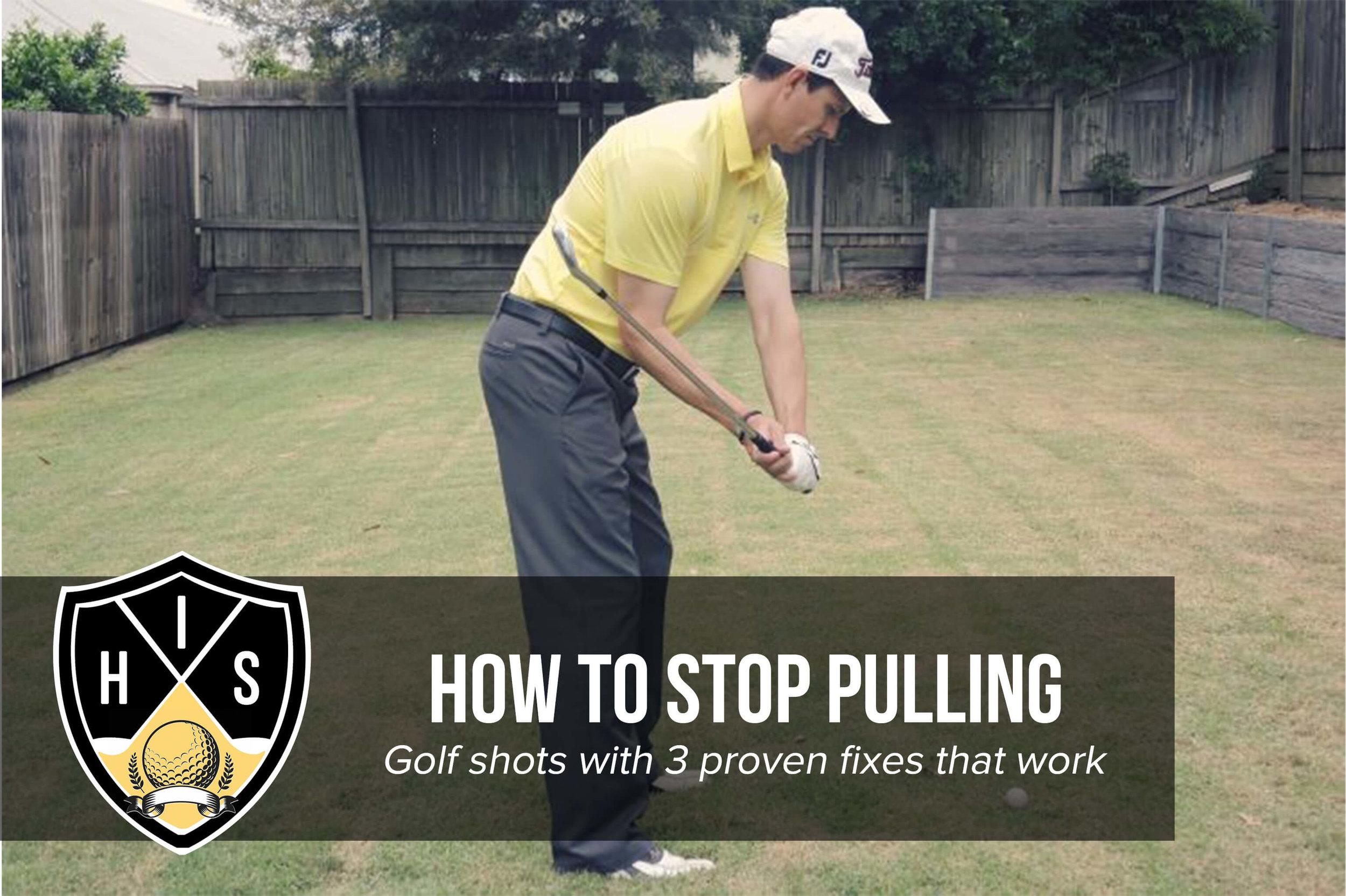 Pulling Golf Shots