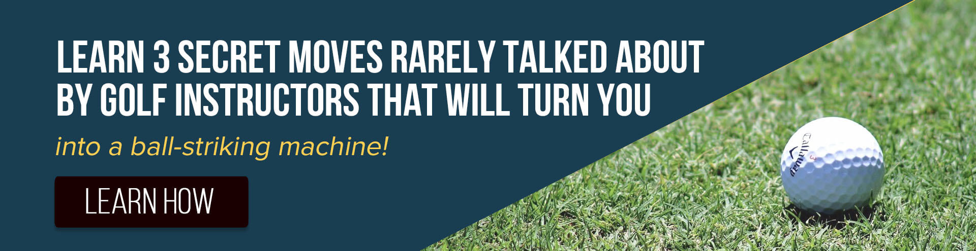 Discover the carefully guarded secrets the best golf pros know about lowering their scores, and how YOU can improve your game....in only 10 minutes!